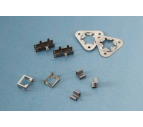 The precision metal stamping is used in different factories