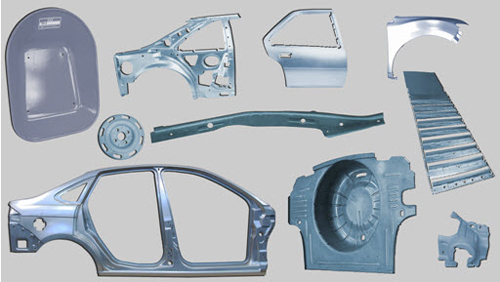 Automotive metal stamping parts
